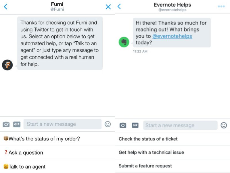 Twitter Chat Bot | Screenshot