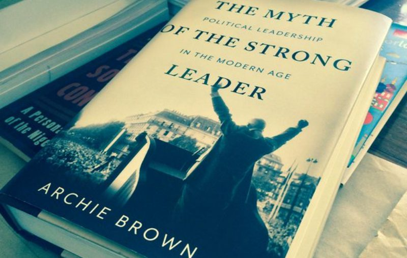 The Myth of The Strong Leader | Sampul Buku