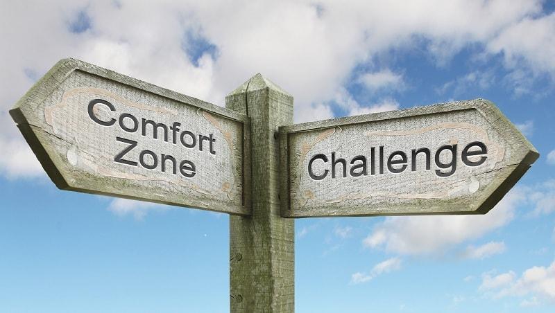 Challenge Comfort Zone| Ilustrasi