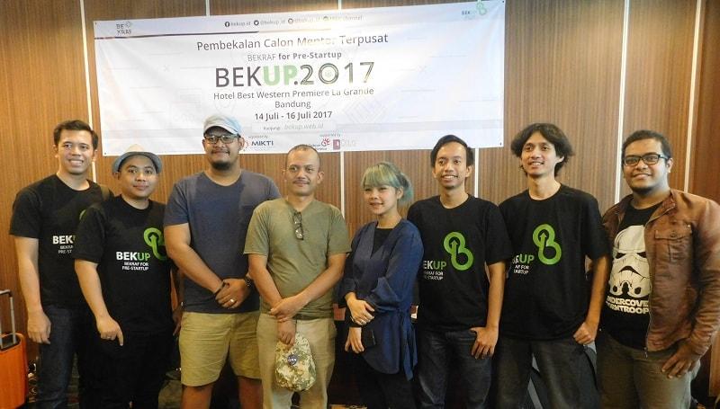 Para Koordinator Program dan Koordinator Mentor BEKUP 2017