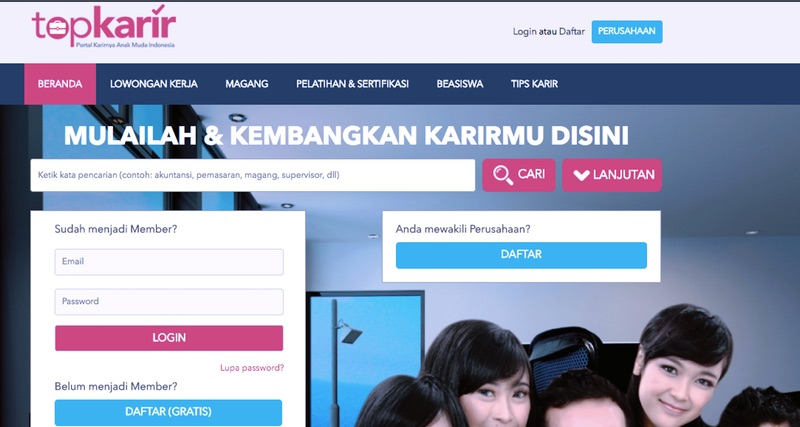 Top Karir   Screenshot