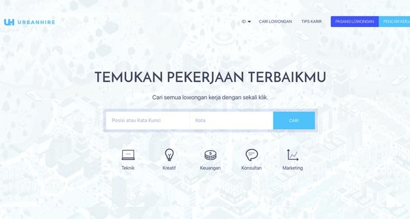 Urbanhire | Screenshot