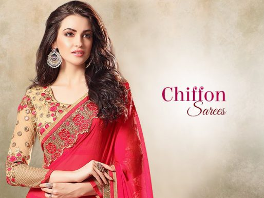 Utsav Fashion Blog   Know All About Indian Ethnic Fashion Trends Freshen Up Your Summer Wardrobe With Chiffon Sarees