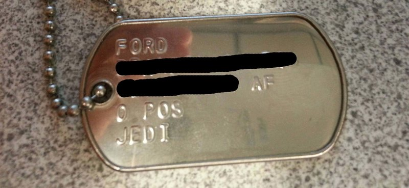 Why can't I choose any religion I want for dog tags / ID ...
