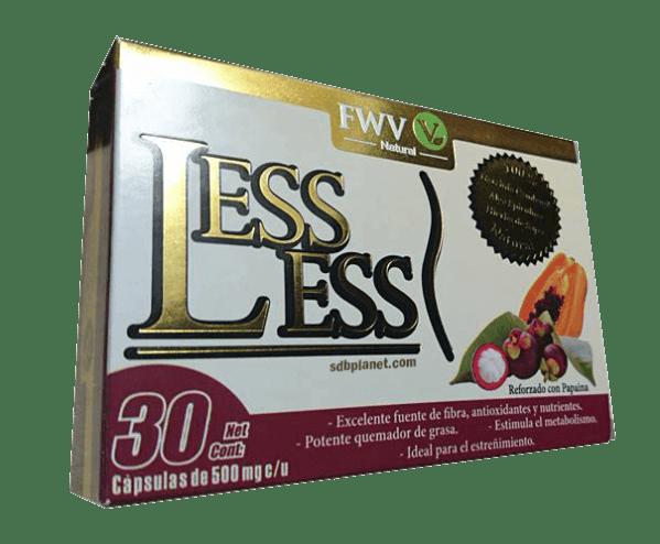 LESS LESS 30 C193PSULAS Comprar en Mundo Natural