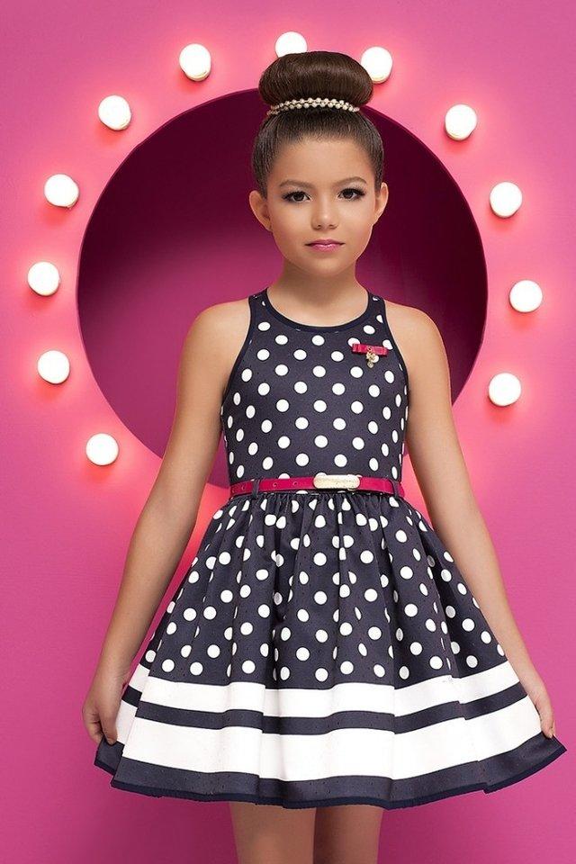 237a1022e Vestido Infantil Diforini Moda Infanto Juvenil 010782 (6) - Modern ...