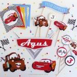 Cars Kit Imprimible Festejo En Casa