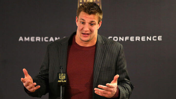 Image result for gronk sad