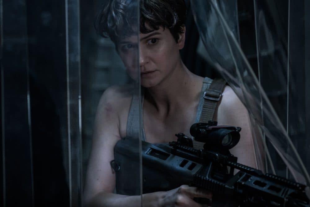 """Katherine Waterston as Daniels in """"Alien: Covenant."""" (Courtesy Mark Rogers/Twentieth Century Fox)"""