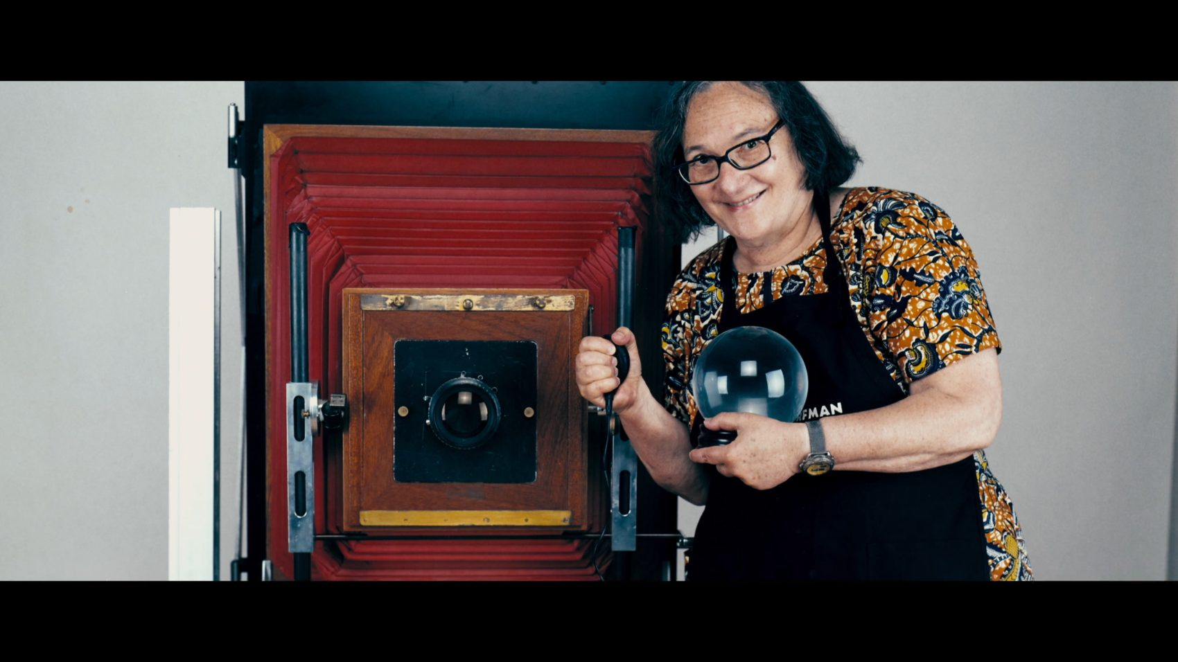 A portrait of Elsa Dorfman from July 2007. (Courtesy Neon)