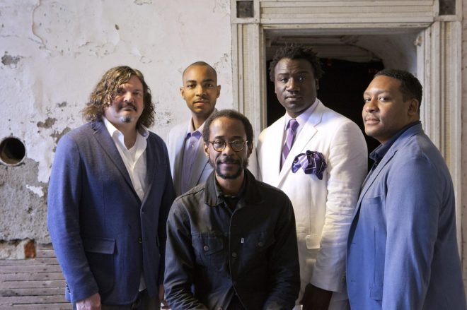 Image result for Brian Blade And The Fellowship Band At Sculler's Jazz Club