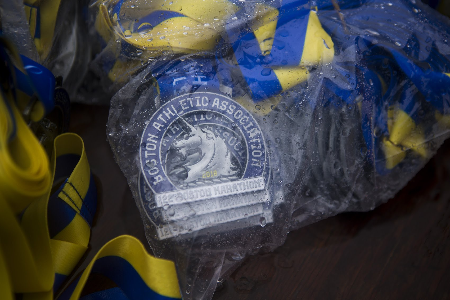 Image result for boston marathon 2018 rain