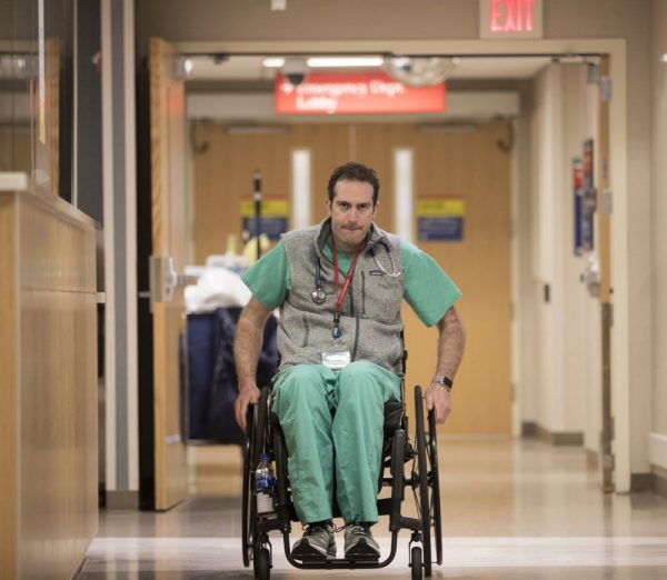 A Bike Accident Left This ER Doctor Paralyzed. Now He's ...