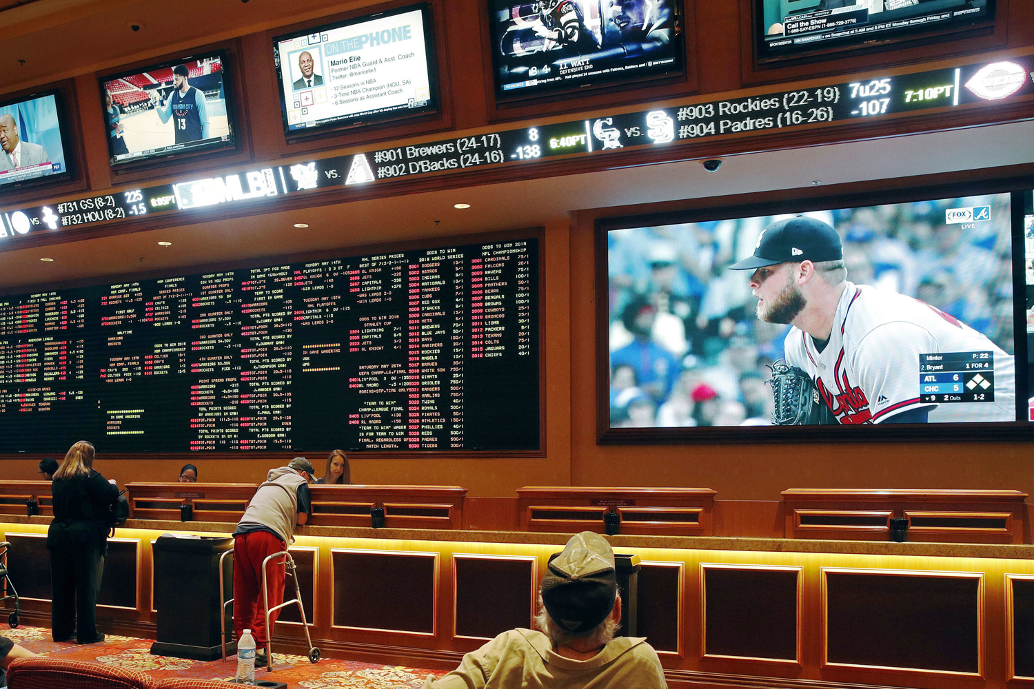 Sports Betting Takes Off On Point