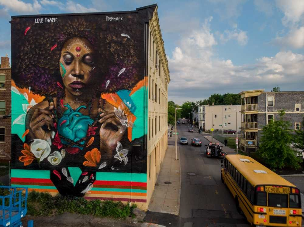 City Funded Afrocentric Mural Once Deemed Too Powerful