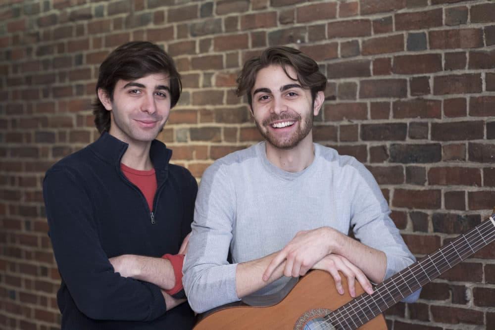 Patrick (left) and Daniel Lazour. (Photo by GretjenHelene.com)