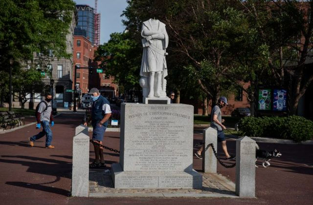 Walsh: Beheaded Columbus Statue To Be Removed, City Assessing Its ...