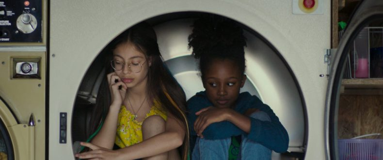 "Medina El Aidi (left) as Angelica and Fathia Youssouf Abdillahi as Amy in ""Cuties."" (Courtesy Netflix)"