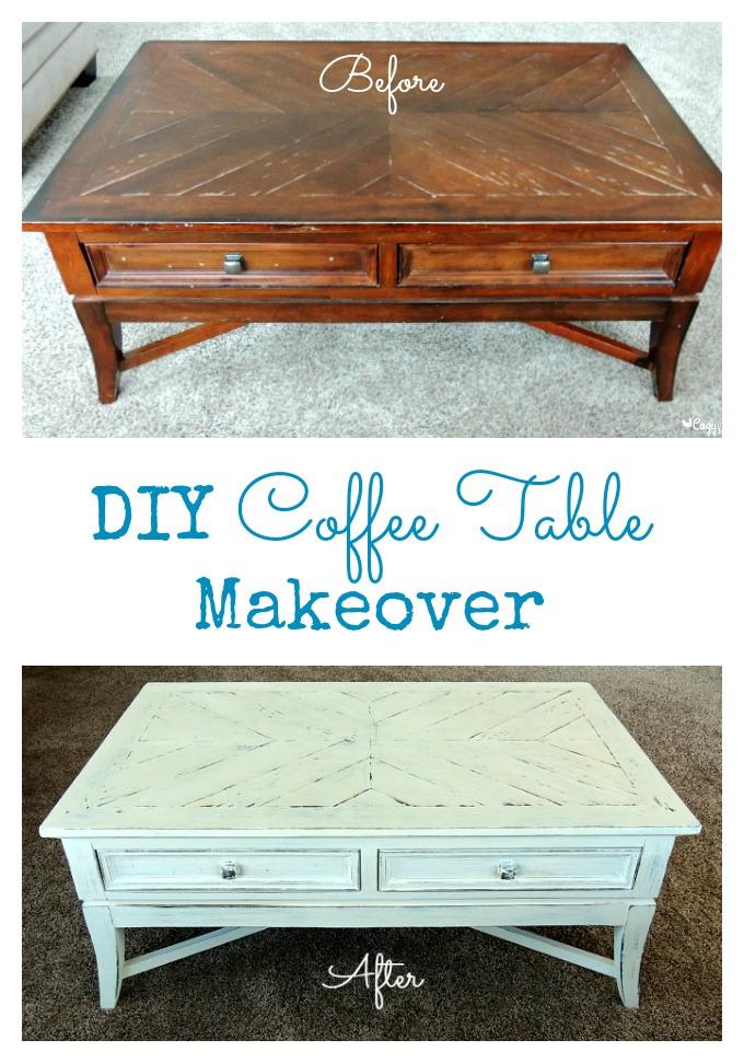 diy coffee table makeover cozy