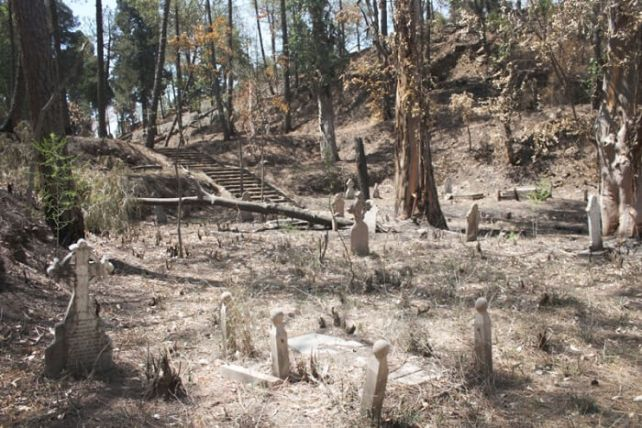 The eerie Roman Catholic graves in Dagshai