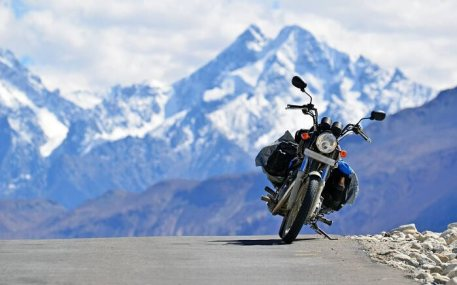 Image result for ladakh bike route images