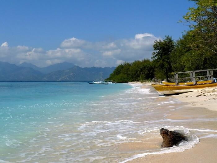 Island of Gili near Bali