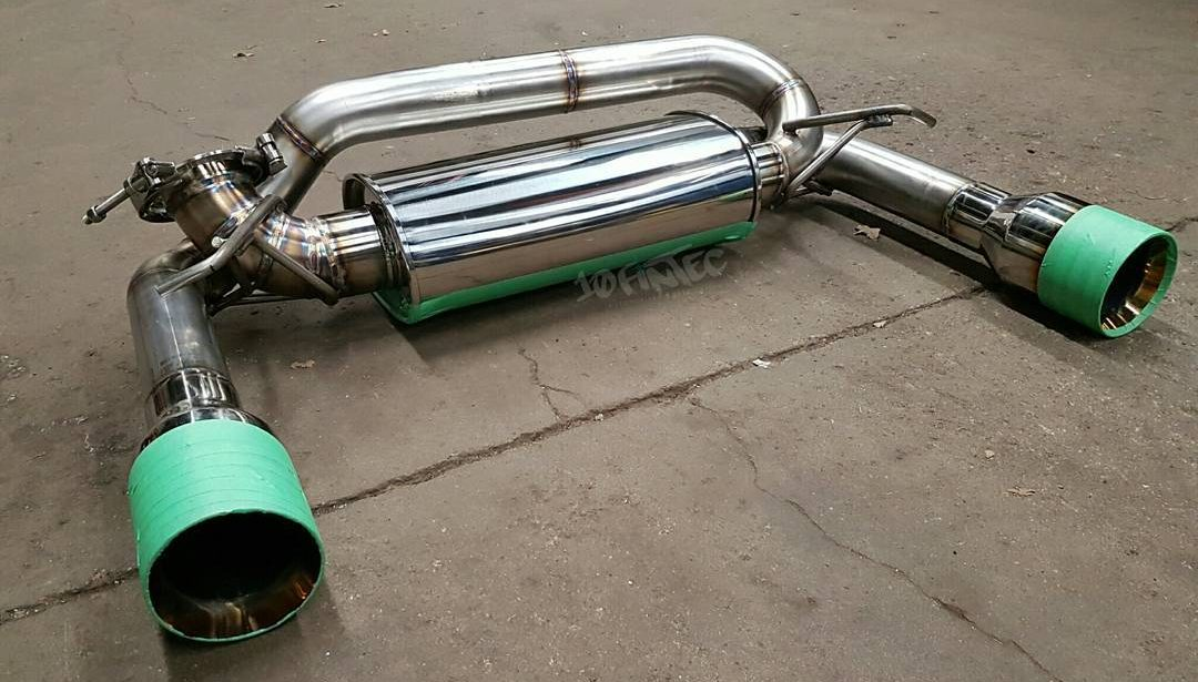 mk3 focus rs exhaust options product