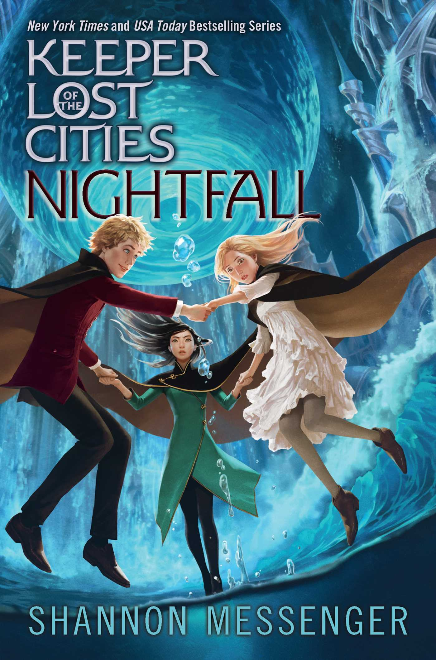 Nightfall Book By Shannon Messenger Official Publisher
