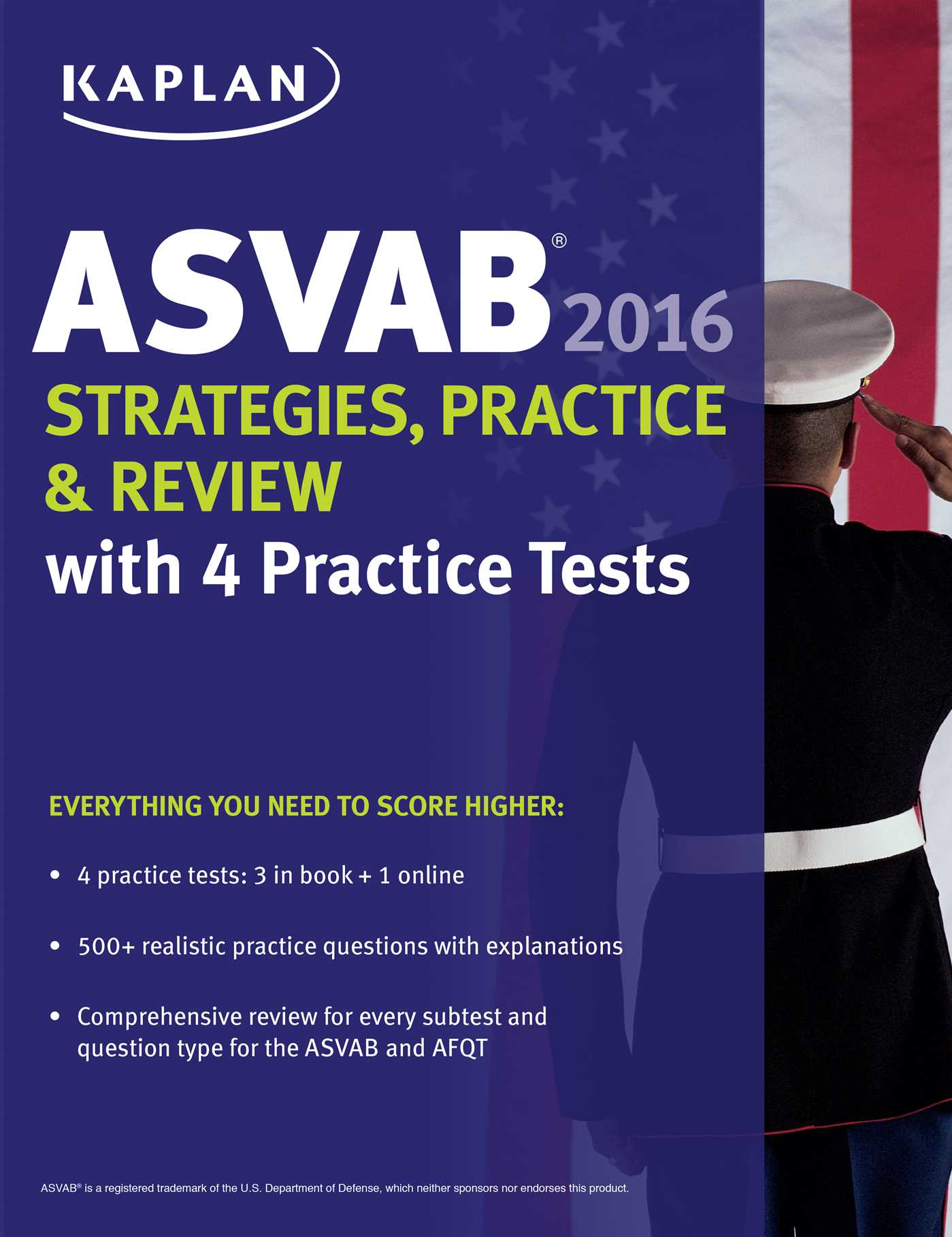 Kaplan Asvab Strategies Practice And Review With 4