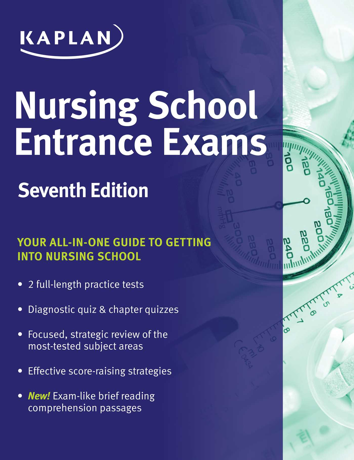 Nursing School Entrance Exams Ebook By Kaplan Nursing