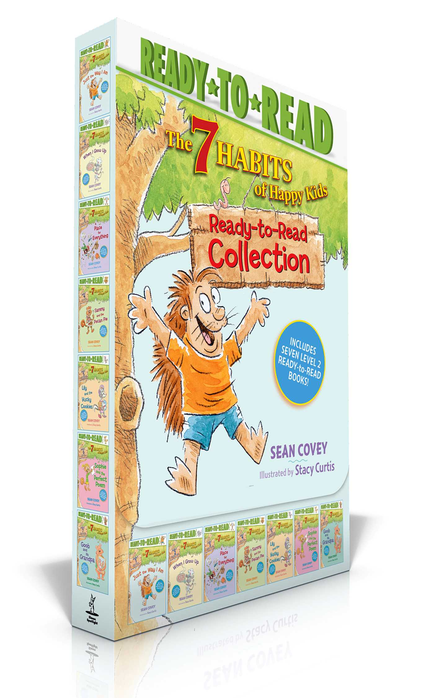 The 7 Habits Of Happy Kids Ready To Read Collection