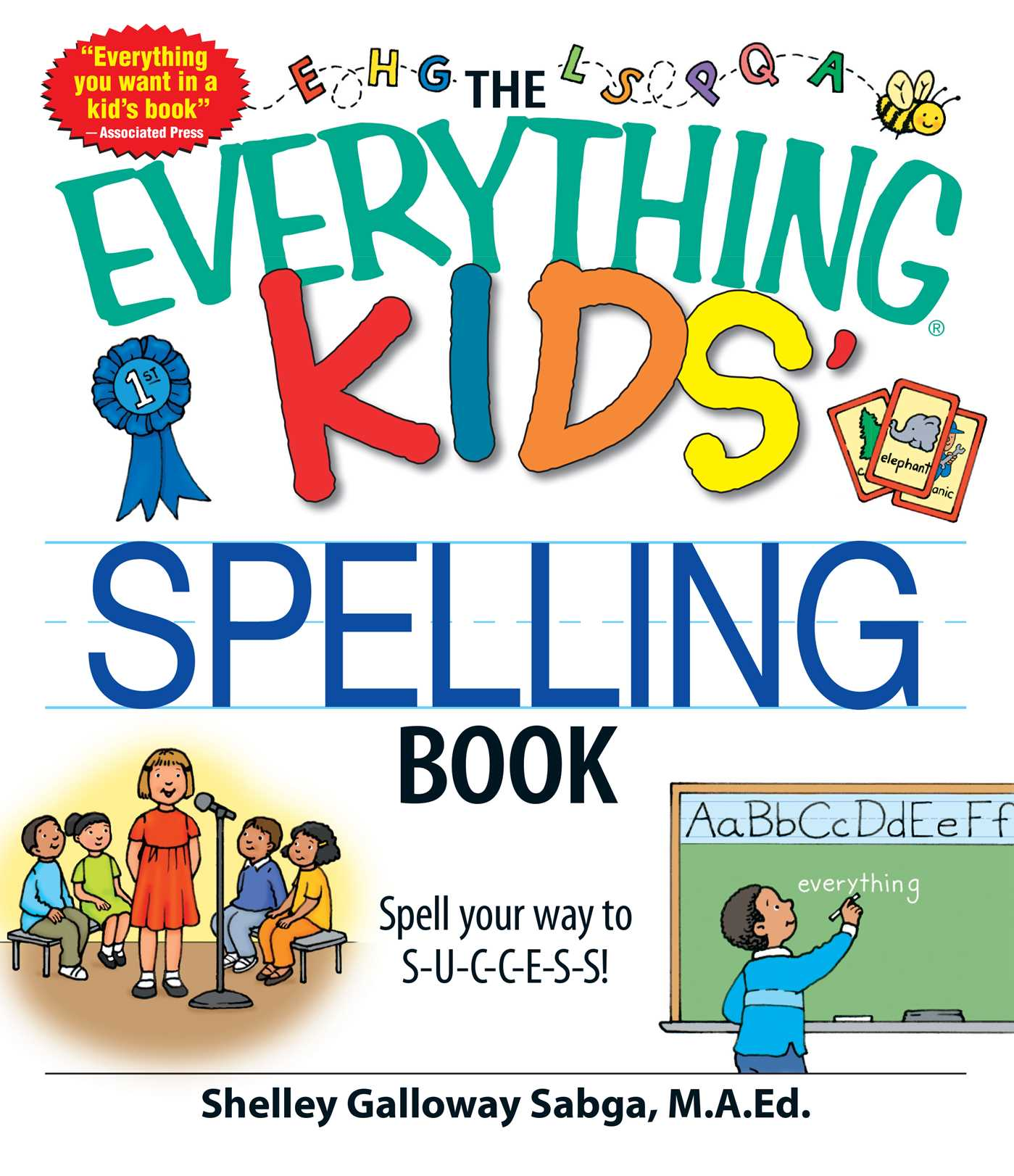 The Everything Kids Spelling Book Ebook By Shelley Galloway Sabga