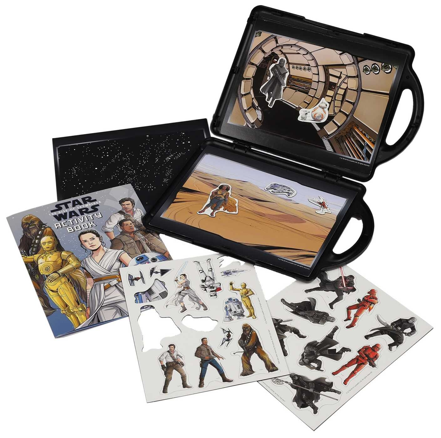 Star Wars The Rise Of Skywalker Book And Magnetic