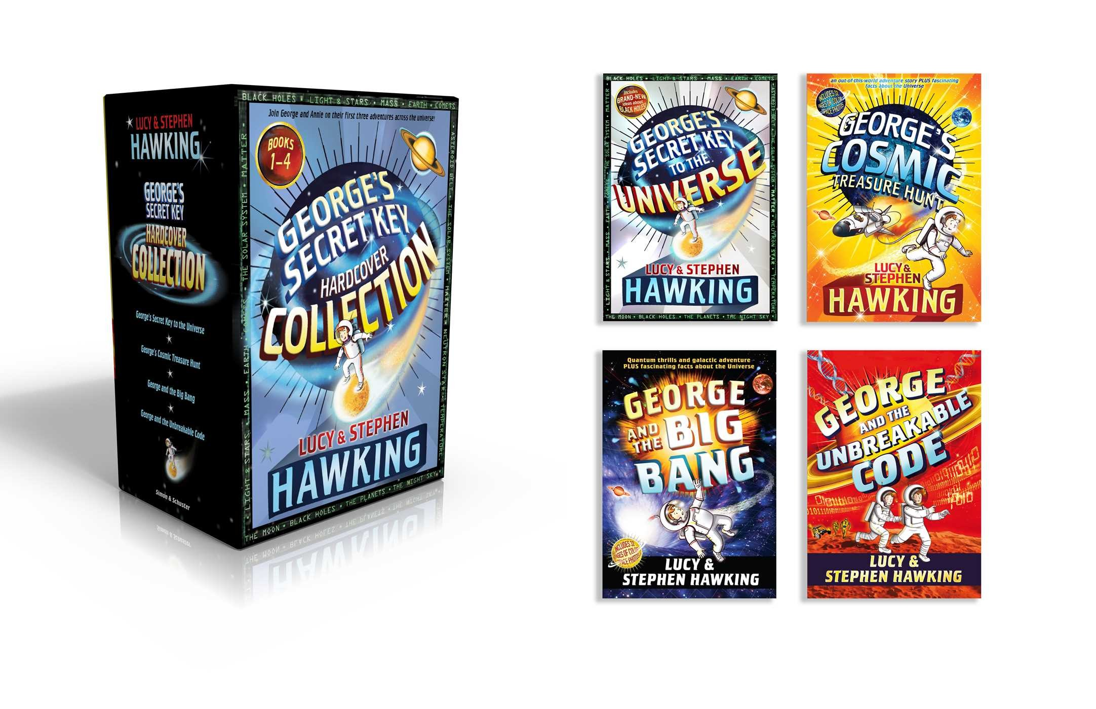 George S Secret Key Hardcover Collection