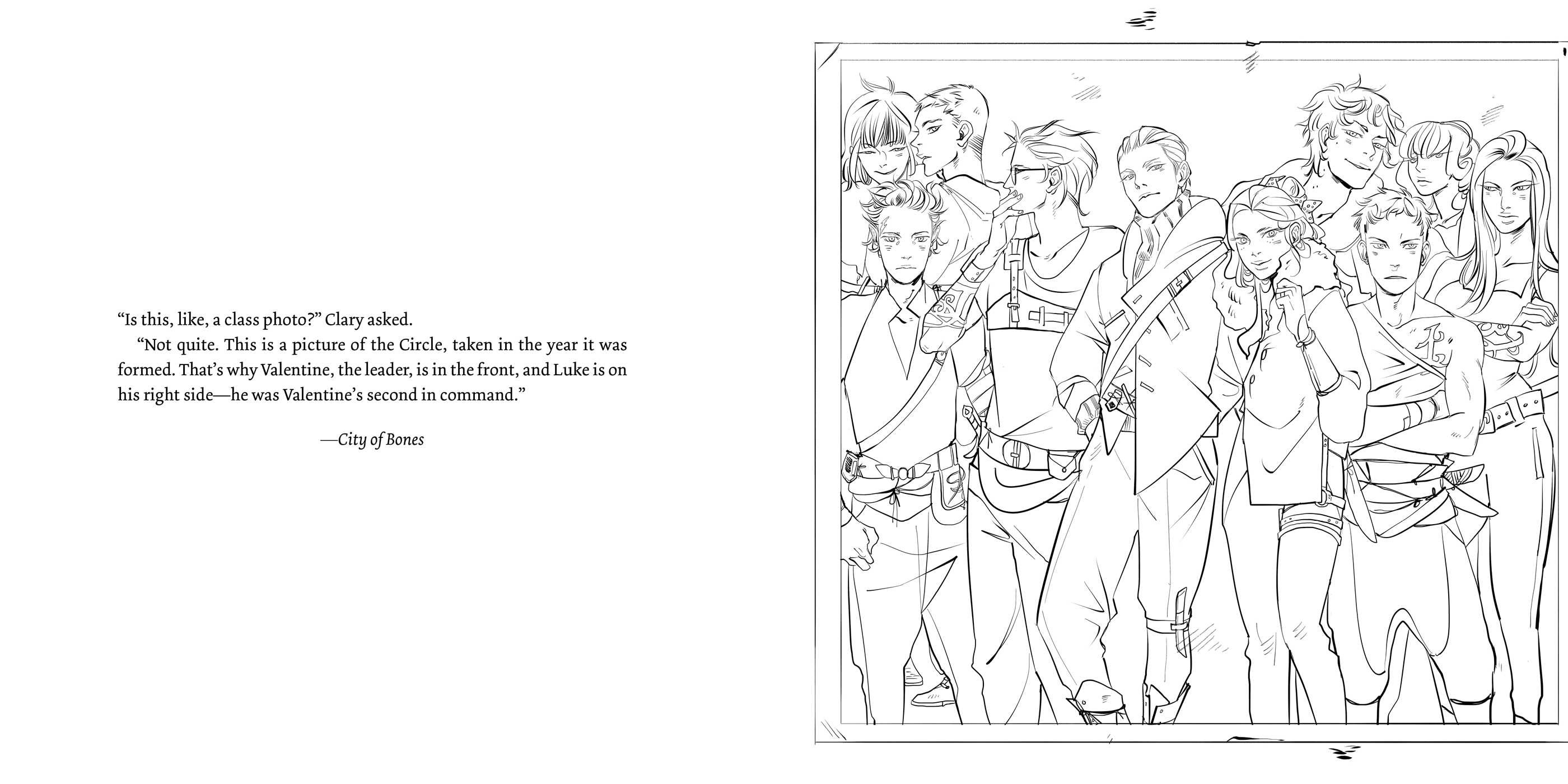 The Official Mortal Instruments Coloring Book Book By