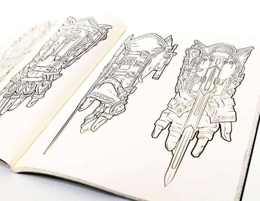 assassin's creed the official coloring book  book