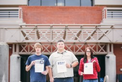 William Jergins, Forrest Gee, and Joey Jergins, Dixie State University student-plaintiffs