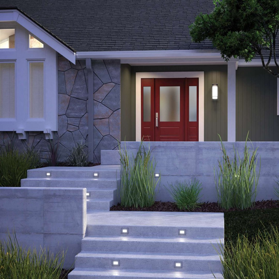 how to light your outdoor entryway