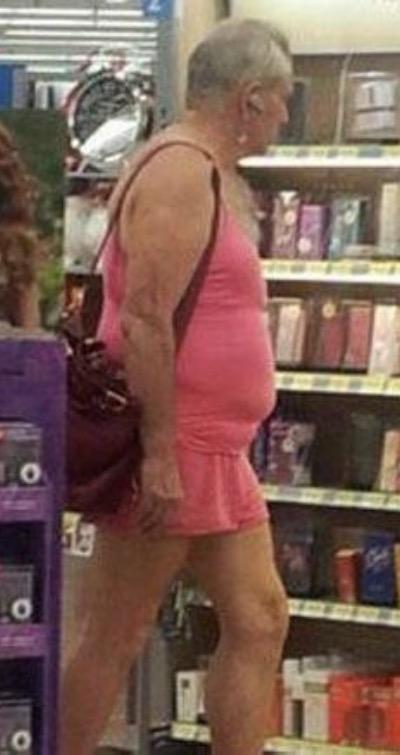 Grandpa Goes Shopping For Perfume At Walmart Walmart Faxo