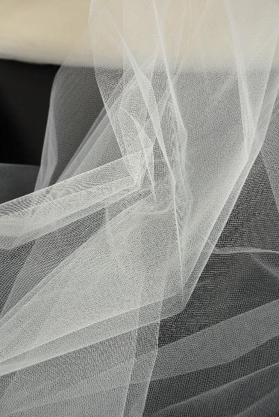 54 Wide Ivory Tulle Bridal Illusion 50yds 65 Yard