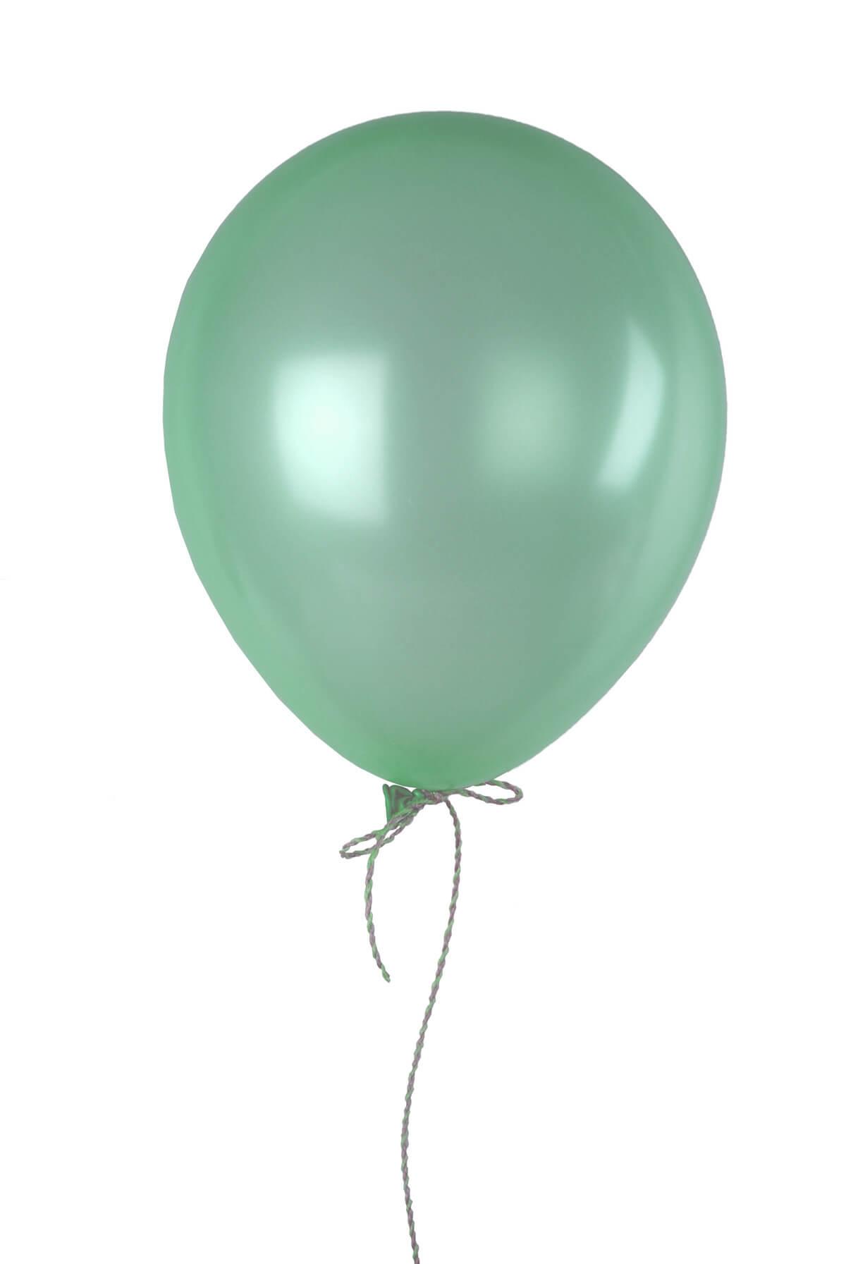 100 Sea Foam Green 12 Balloons