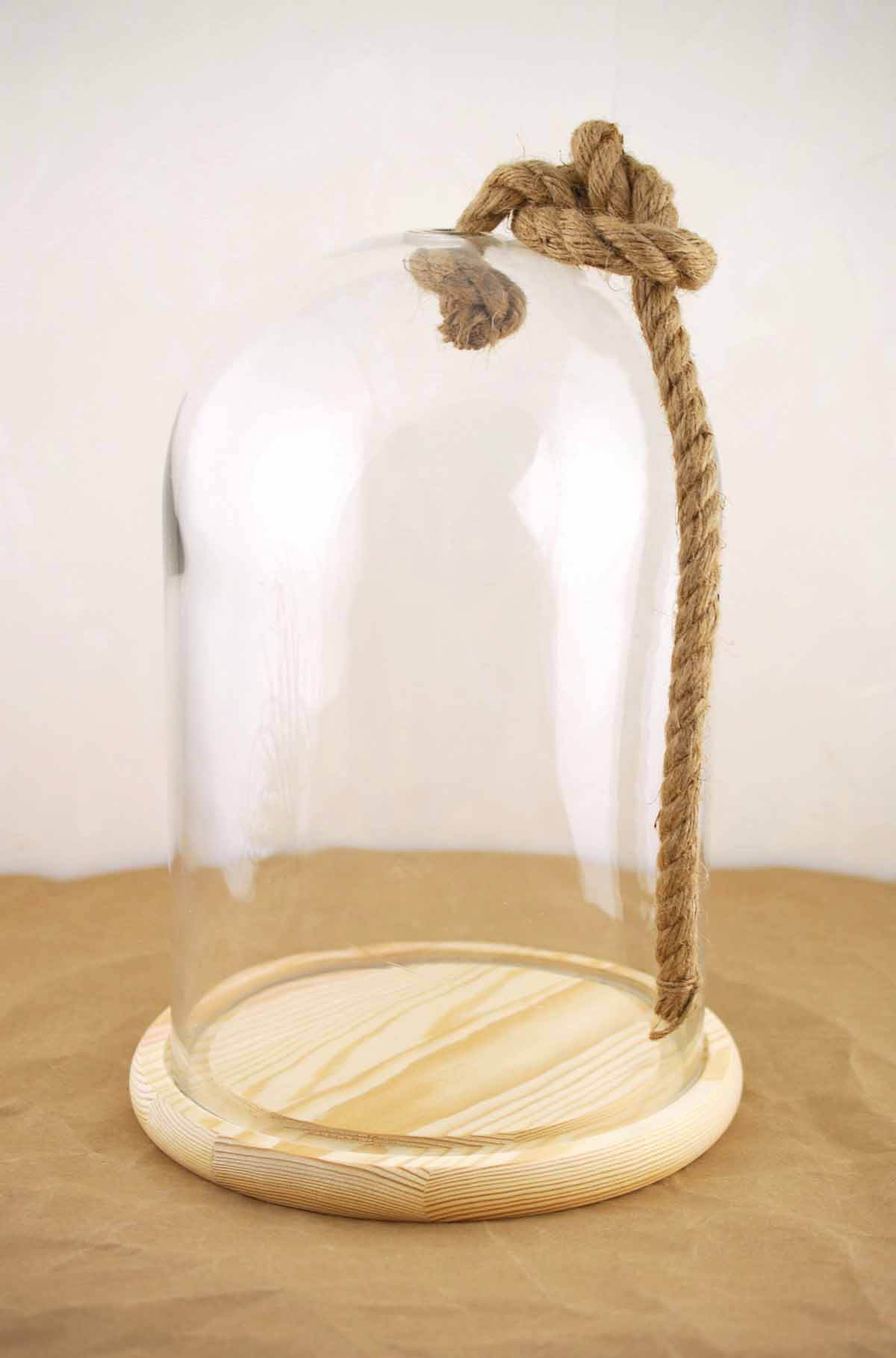 Bell Jar With Rope 12 Nautical
