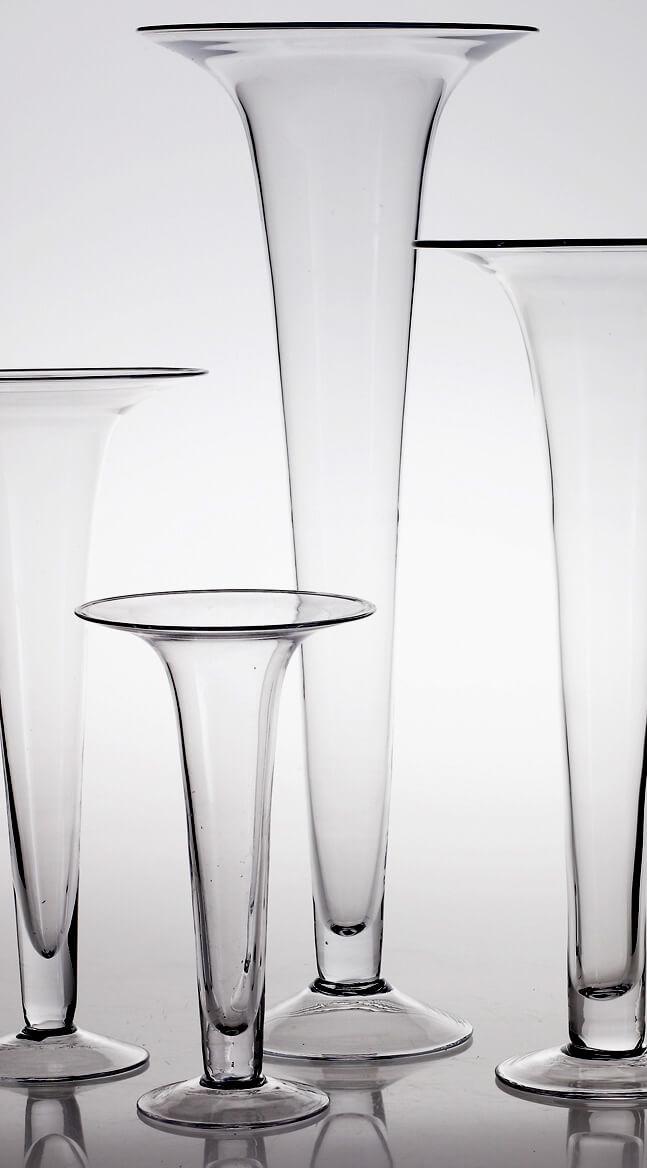 Tall Trumpet Vase Centerpiece