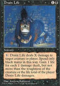 MTG Card: Drain Life