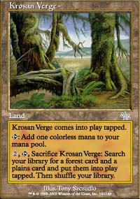 MTG Card: Krosan Verge