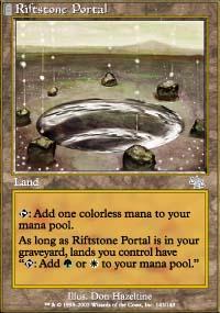 MTG Card: Riftstone Portal