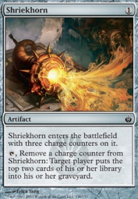 MTG Card: Shriekhorn