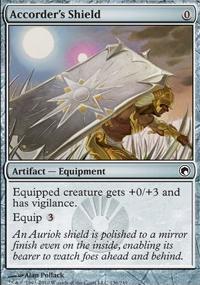MTG Card: Accorder's Shield