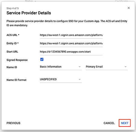Figure 11: Add service provider details