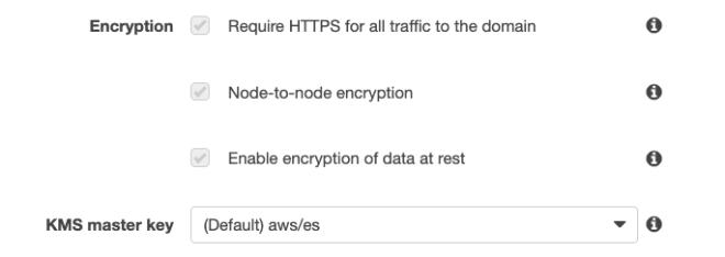Figure 8: Enabled encryption